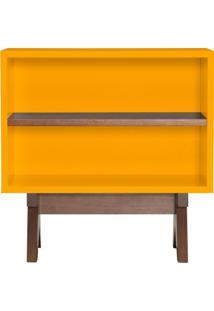 Mesa De Cabeceira Paes Amarela