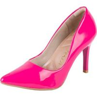 2fbfc2709 Scarpin Firezzi Em Verniz Azaleia - Feminino-Pink