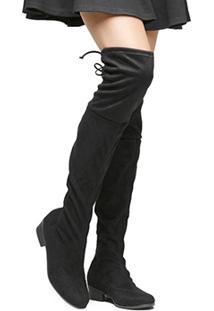 Bota Shoestock Over Knee Flat - Feminino