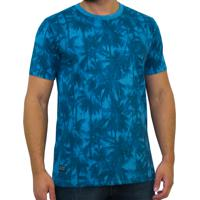 6cfd1da3b8 Camiseta Kevingston Price Fullprint Manga Curta Azul Palmeiras