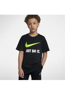 "Camiseta Nike ""Just Do It"" Swoosh Infantil"