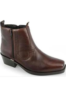 Bota Ferracini New Country Masculino - Masculino-Cafe