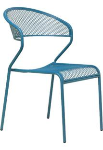 Cadeira De Jardim Lenna Azul