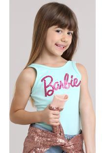 Body Barbie Com Paetês Verde Claro