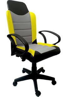 Cadeira Gamer New Amarela