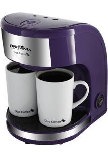 Cafeteira Britânia Duo Coffee Roxa 220V