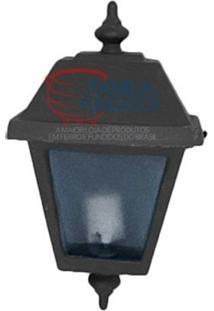 Luminária Externa Meia Cara Simples
