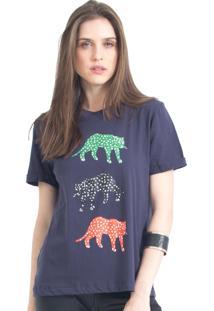 Camiseta Tri Cheetah 41Onze Marinho - Tricae