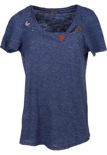 T-Shirt It'S & Co Star 0070 Azul