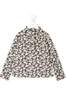 Bonpoint Blusa Com Estampa Floral - Estampado