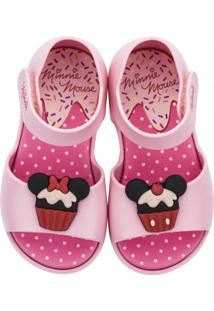 Sandália Infantil Grendene Minnie Fun