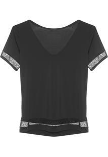 Camiseta Feminina Movement - Preto