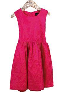 Vestido Infantil Dolce Bambina Liso Pink