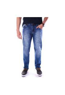 Calça 2160 Jeans Skinny Traymon Azul Claro