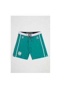 Boardshort Mitchell & Ness Sublimado Collab Hd Mineirinho Boston Celtics Verde