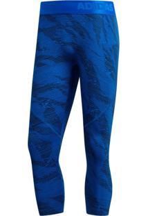 Calça Adidas Ask Camo 34T Azul