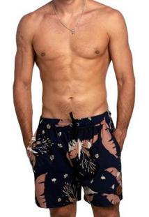 Bermuda Swim Bali Masculino - Masculino-Marinho