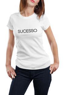 Camiseta Hunter Sucesso Branca