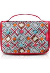 Necessaire De Viagem Jacki Design Nylon - Feminino-Pink