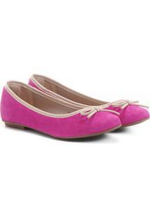 fd6d5871d7 Sapatilha Infantil Shoestock Verniz Feminina - Feminino-Pink