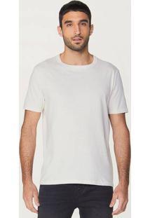 Camiseta Básica Masculina Em Malha Sustentável Reuse