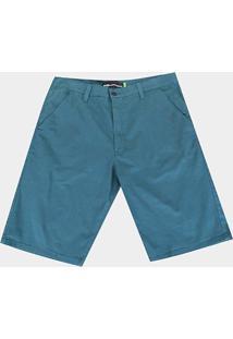 Bermuda Sarja Hd Walkshort Hd Plus Size Masculina - Masculino-Verde