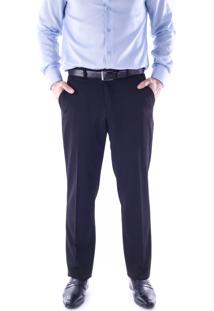 Calça Alfaiataria Chino Regular Preto Traymon 5570