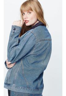 Jaqueta Jeans Vinil Jeans - P