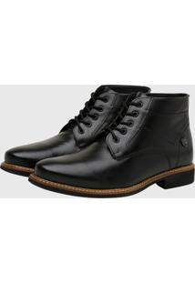 Bota Masculina Gommix Shoes 1009 Couro Preto - Preto - Masculino - Dafiti