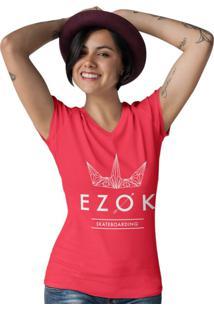 Camiseta Ezok Gola V Urban Vermelho