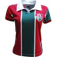 Camisa Liga Retrô Fluminense 1913 - Feminino 6a6db30e0fa2f