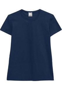 Camiseta Feminina Malwee 1000004499 02023-Marinho
