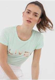 Camiseta Live! Basic Verde