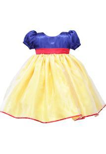 Vestido Kids Liminha Doce De Festa Multicolorido