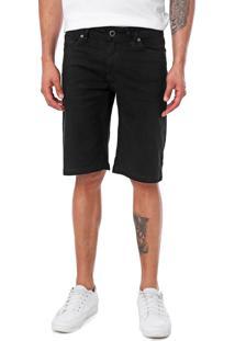 Bermuda Jeans Volcom Reta Vorta Preta