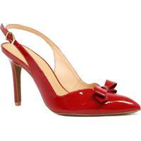 e3663b59ee Sapato Chanel Vermelho feminino