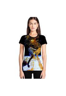 Camiseta Feminina Ramavi Cavalo Marinho Manga Curta