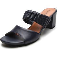 1012adb4a Tamanco Azul Marinho Usaflex feminino | Shoes4you