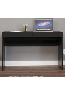 Mesa Para Computador Lindóia 2 Gavetas Preto Bp - Politorno