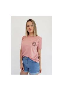 T-Shirt Aero Jeans Rosa