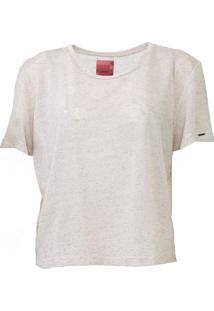 Camiseta Sommer Lisa Bege