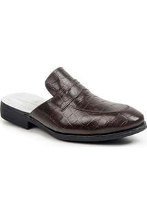 Sapato Masculino Sandro Moscoloni Mule Alligator M