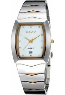 Relógio Weiqin Analógico W0045Bg - Feminino-Branco