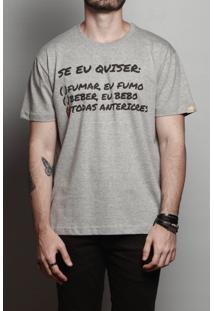 Camiseta Maneiras