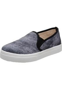 Slippers Estampa Jeans Stefanello Tor01 Cinza