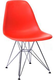 Cadeira Eames V Vermelha