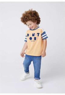 Calça Jeans Infantil Menino Reta Toddler Azul