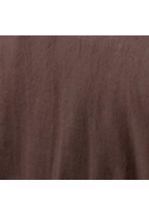 Cobertor Casal Poliéster Microfibra Liso 180Cmx220Cm Sublime Jolitex Marrom