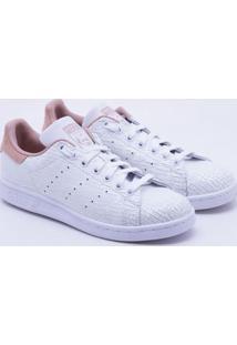 f37d551a301 Tênis Adidas Stan Smith Originals Branco Feminino 36
