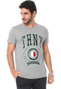 ccc1d473c26 Camisetas Esportivas Branca Tommy Hilfiger